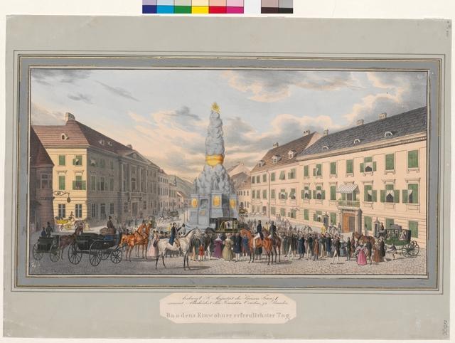 Ankunft Sr. Majestät des Kaisers Franz I. sammt Allerhöchst dero Gemahlin Caroline in Baden
