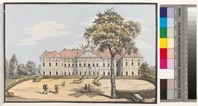 Ansicht der Schatz Commission oder der Kraschintzkysche Garten zu Warschau