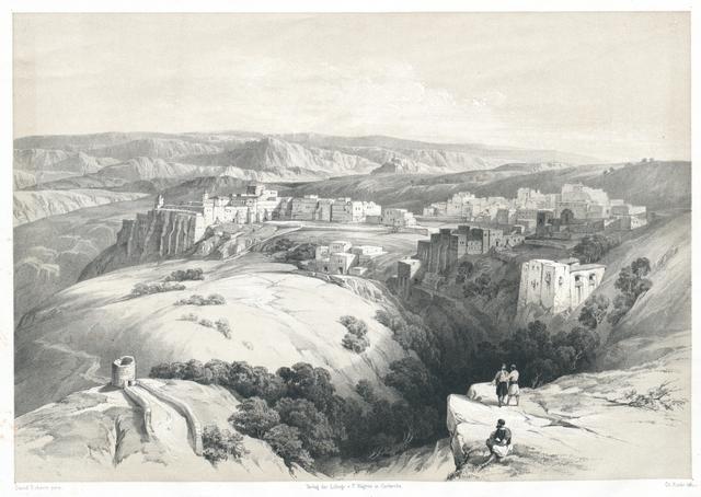 Ansicht von Bethlehem