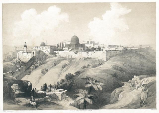 Ansicht von Jerusalem