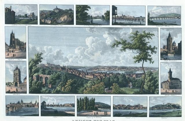 Ansicht von Prag vom Laurenzberge