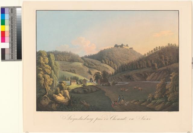 Augustusburg prés de Chemnitz en Saxe