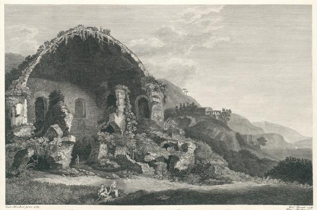 Avanzi del Tempio di Diana a Baja