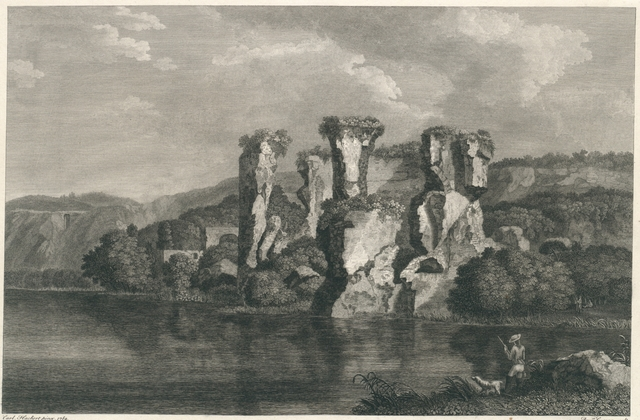 Avanzi del Tempio di Proserpine sul Lago d'Averno