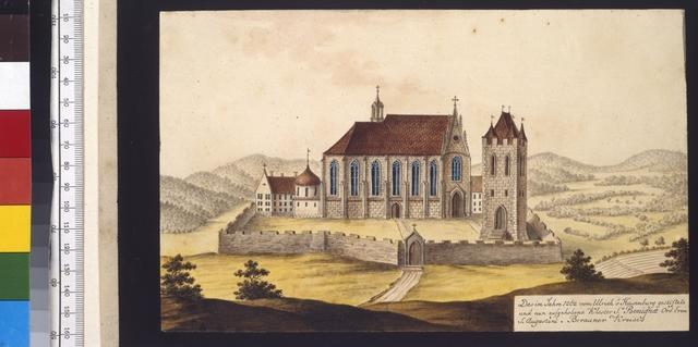 Das im Jahre 1262 vom Ulrich v. Hasenburg gestiftete und nun aufgehobene Kloster S.a Benignae Ord. Erem. S. Augustini, Berauner Kreises