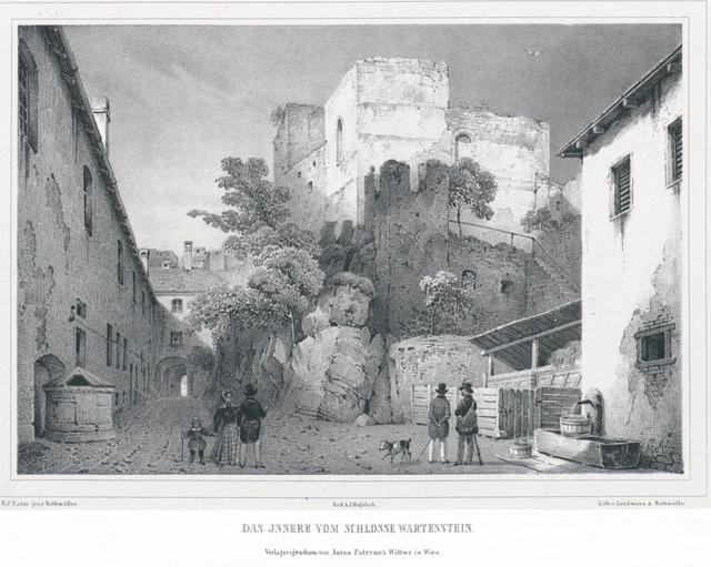 Das Innere vom Schloss Wartenstein