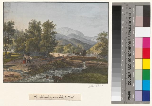 Der Schneeberg vom Klosterthal