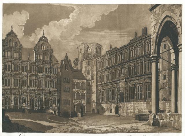 Ein innerer Theil des Schlosses zu Heidelberg