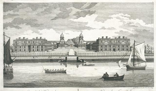 Greenwich Hospital. Hospital zu Greenwich