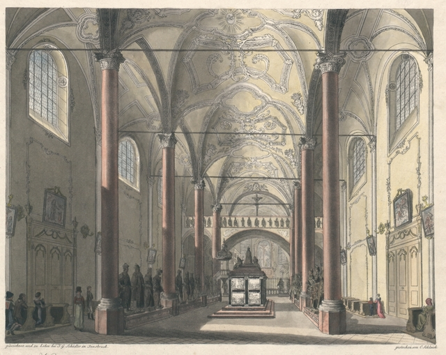 Hofkirche zu Innsbruck mit dem Grabmal des Kaisers Maximilian I.