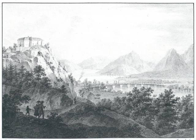 Kaernthen. Schloss Hollenburg an der Drau