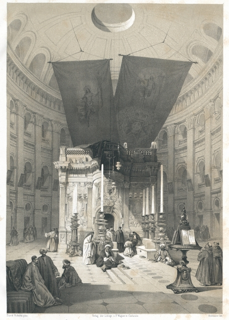 Kapelle des heiligen Grabes zu Jerusalem