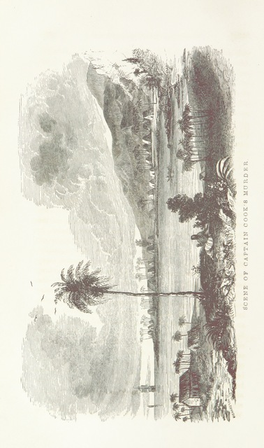 """Kealakekua Bay, Hawaii from """"United States exploring expeditions. Voyage of the U.S. exploring squadron, commanded by Captain C. Wilkes ... in 1838-42, together with explorations and discoveries made by Admiral D'Urville, Captain Ross, and other Navigators and Travellers; and an account of the expedition to the Dead Sea, under Lieutenant Lynch ... With numerous illustrations"""""""