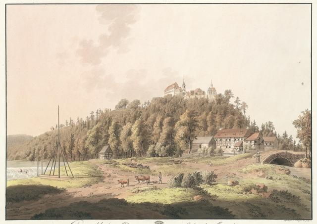 Lichtenwalde ohnweit Chemnitz im Sächsischen Erzgebirge