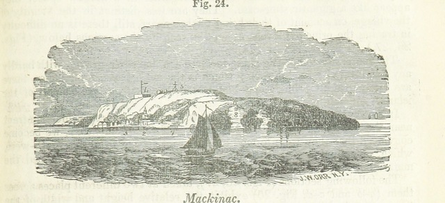 """Michigan from """"Report on the Geology and Topography of a portion of the Lake Superior land district in the State of Michigan. By J. W. Foster and J. D. Whitney. (May 16, 1850.)"""""""