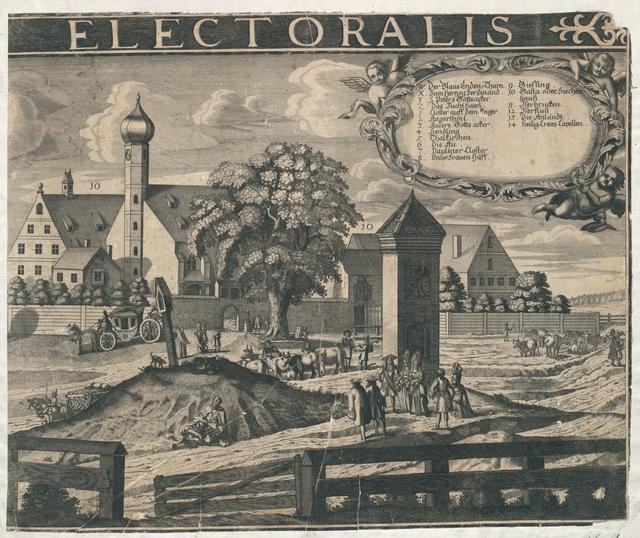 Monachium Bavariae Metropolis Urbs Florentissima Electoralis