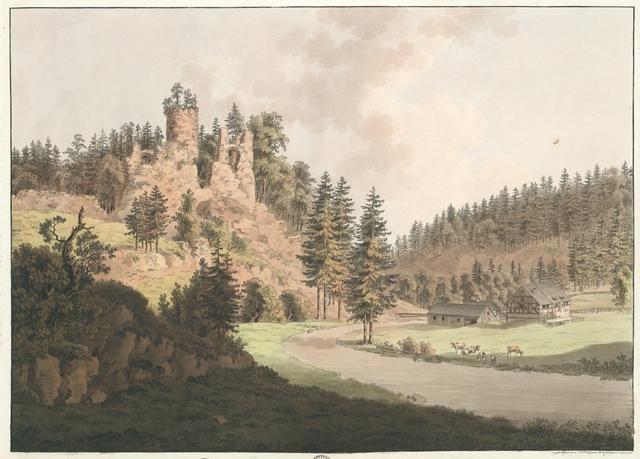 Nieder Lauterstein im Sächsischen Erzgebürge