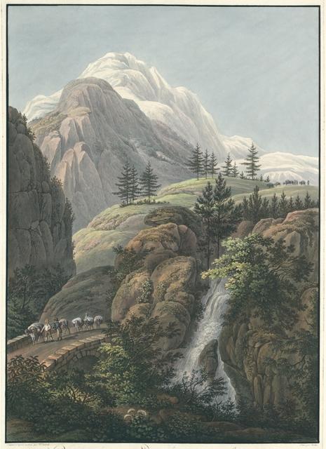 Partie de la vallée de Leventina dans la Suisse italienne; Passage au mont St. Gotthardt