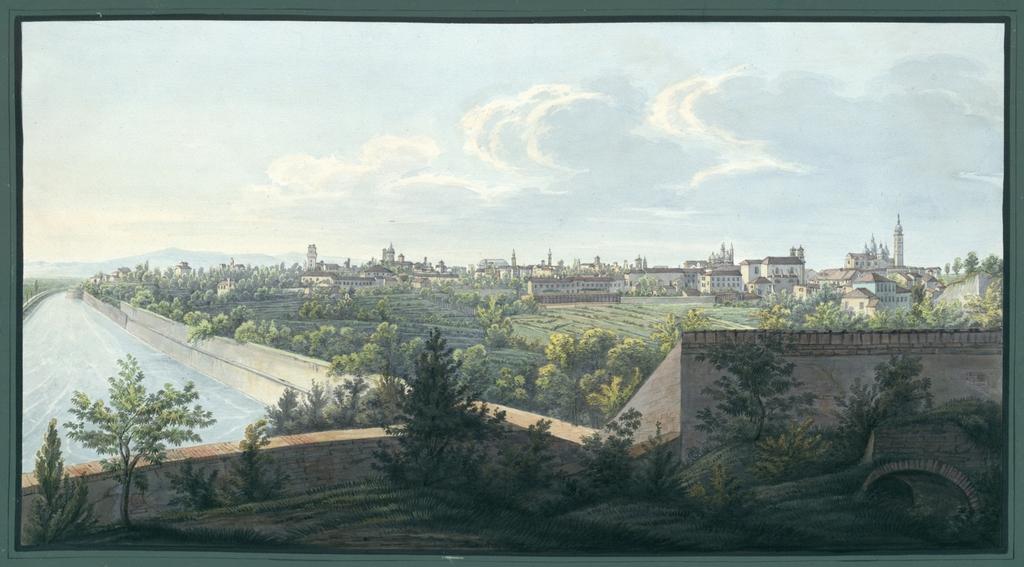 Prospetto della I. R. Città di Padova