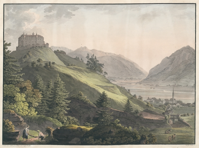 Schloss Amras nächst Insbruck in Tyrol