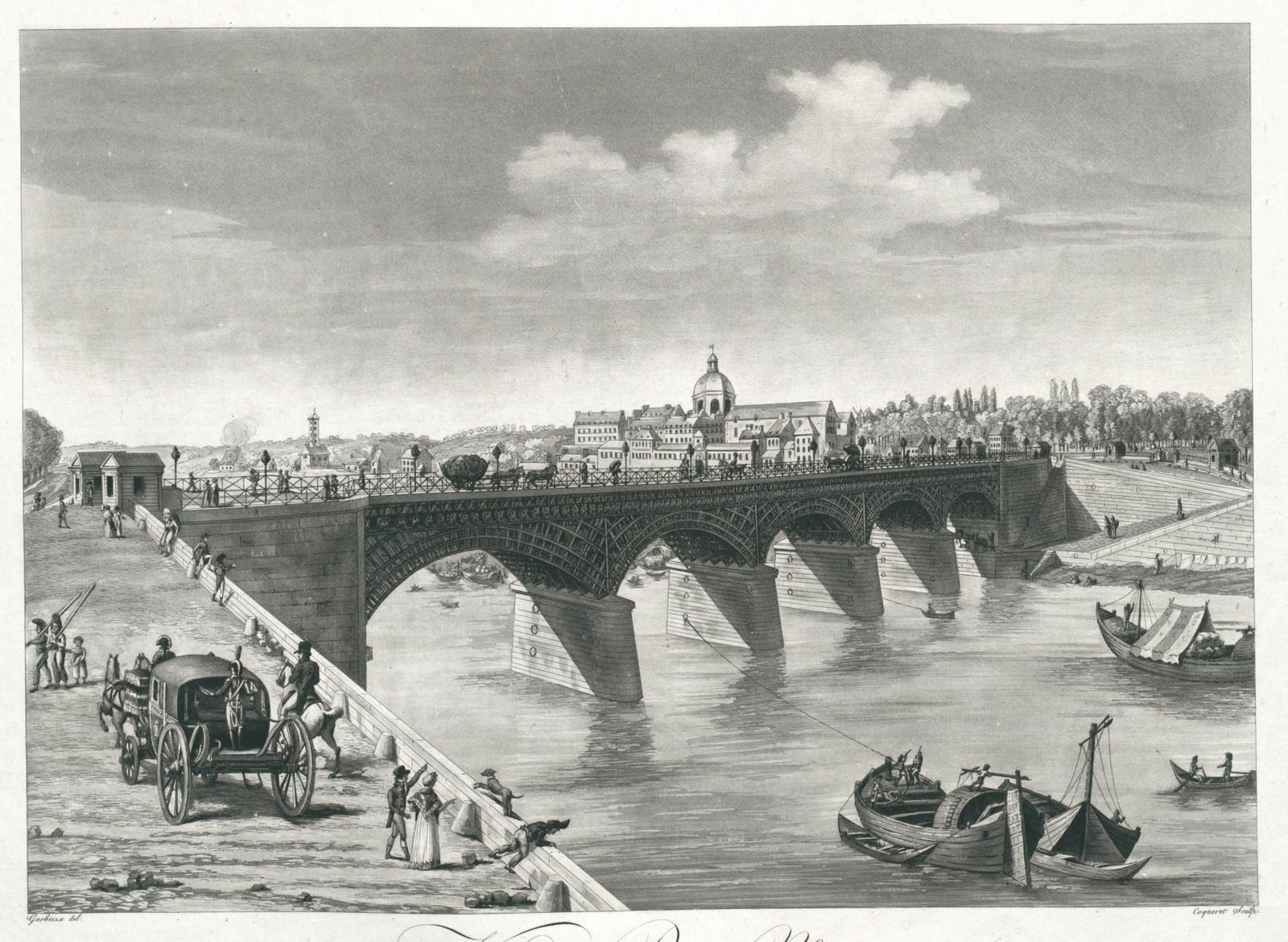 Vue de Paris, No. 9. Vue du Pont d'Austerlitz