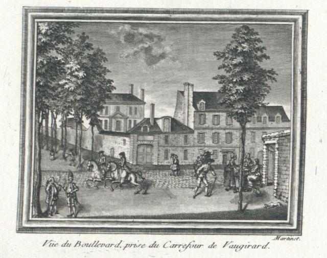 Vue du Boullevard prise du Carrefour de Vaugirard