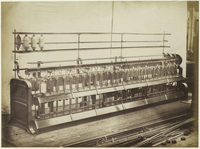 Cotton Machinery. Hibbert, Platt and Sons.