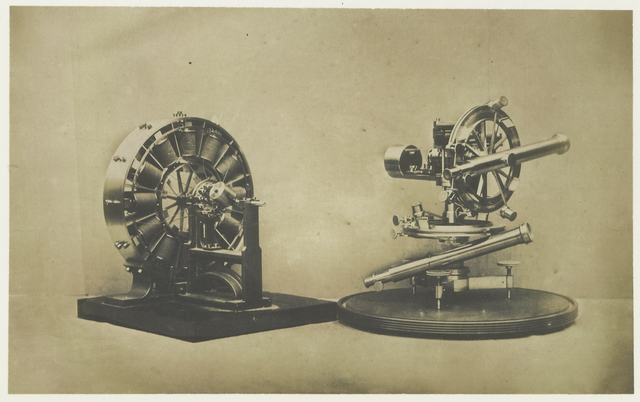 Electro-Magnetic Apparatus and Theodolite. Froment.