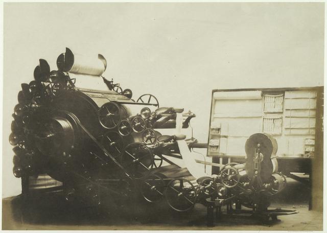 """Epurator"" Machine for Cleaning Cotton. Risler."
