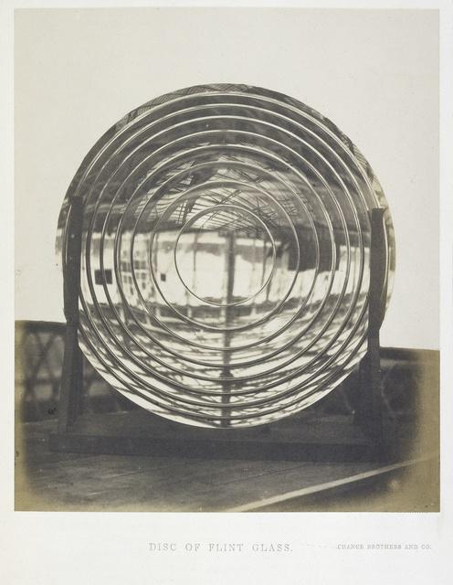 Flintglas voor een astronomische kijker, inzending van Chance Brothers and Co. op de Great Exhibition, 1851