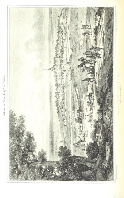 """Gray from """"Histoire de la ville de Gray et de ses monuments. [With plates.]"""""""