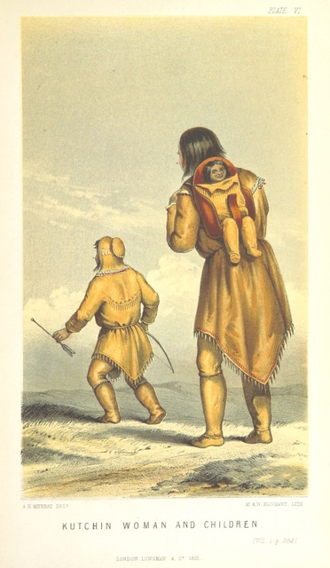 """Gwich'in from """"Arctic Searching Expedition: a journal of a boat-voyage through Rupert's Land and the Arctic Sea, in search of the discovery ships under the command of Sir John Franklin"""""""