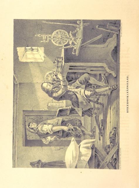 """ivory miniatures from """"Teckningar ur Sveriges historia af C. A. Dahlström, med text af-"""""""