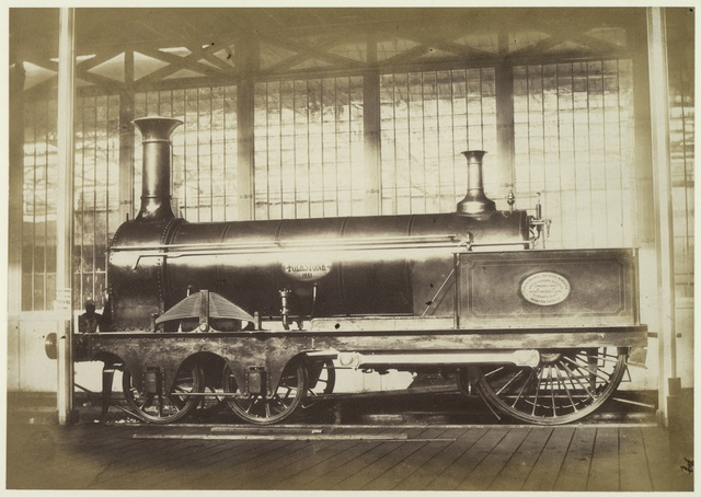 Locomotive Engine. Crampton.