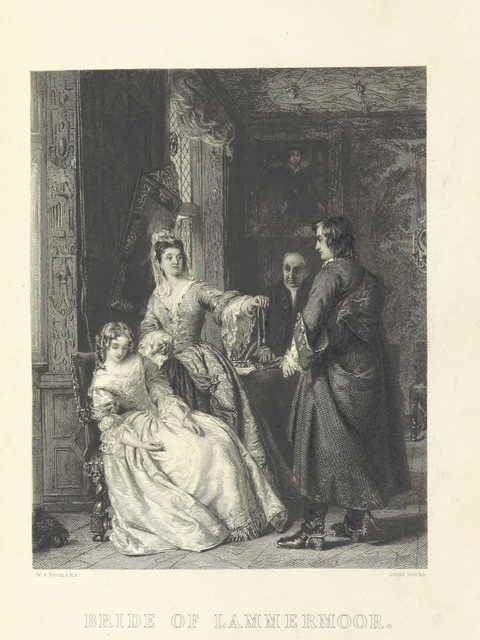 "Bride of Lammermoor from ""[The Novels of Sir Walter Scott, Bart. With all his introductions and notes.]"""