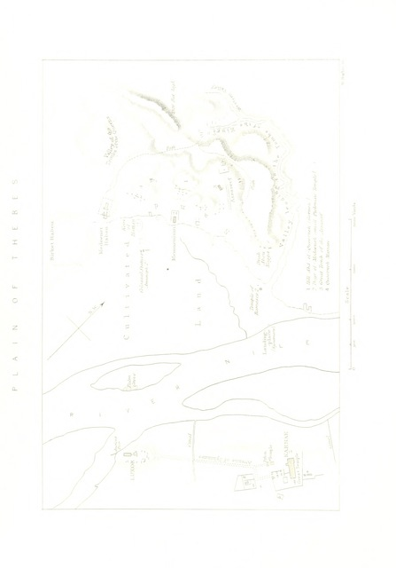 """map from """"The Land of Bondage, its ancient monuments and present condition: being the journal of a tour in Egypt"""""""