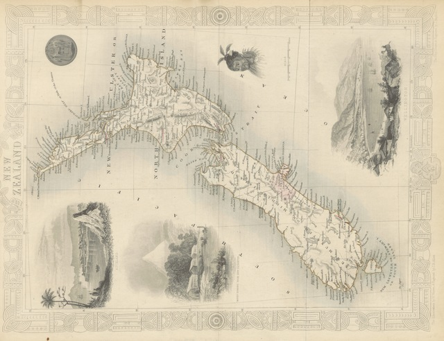 """map from """"[The Voyages of Captain James Cook. Illustrated ... With an appendix, giving an account of the present condition of the South Sea Islands, &c.]"""""""