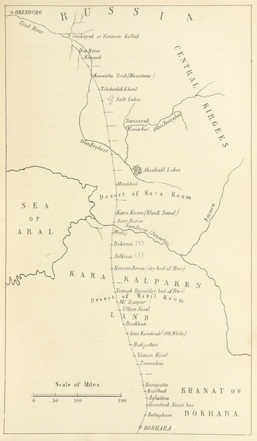 """map from """"Thirty-five years in the East. Adventures, discoveries, experiments, and historical sketches, relating to the Punjab and Cashmere"""""""