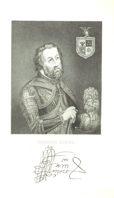 """portrait from """"Mexico, Aztec, Spanish and Republican: or historical, geographical, political, statistical and social account of that country from the period of the invasion to the present time: with a view of the ancient Aztec Empire ... a historical sketch of the late war; and notices of New Mexico and California"""""""