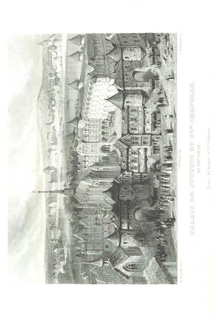 """scanned image from """"Histoire de Paris et de ses monuments"""""""
