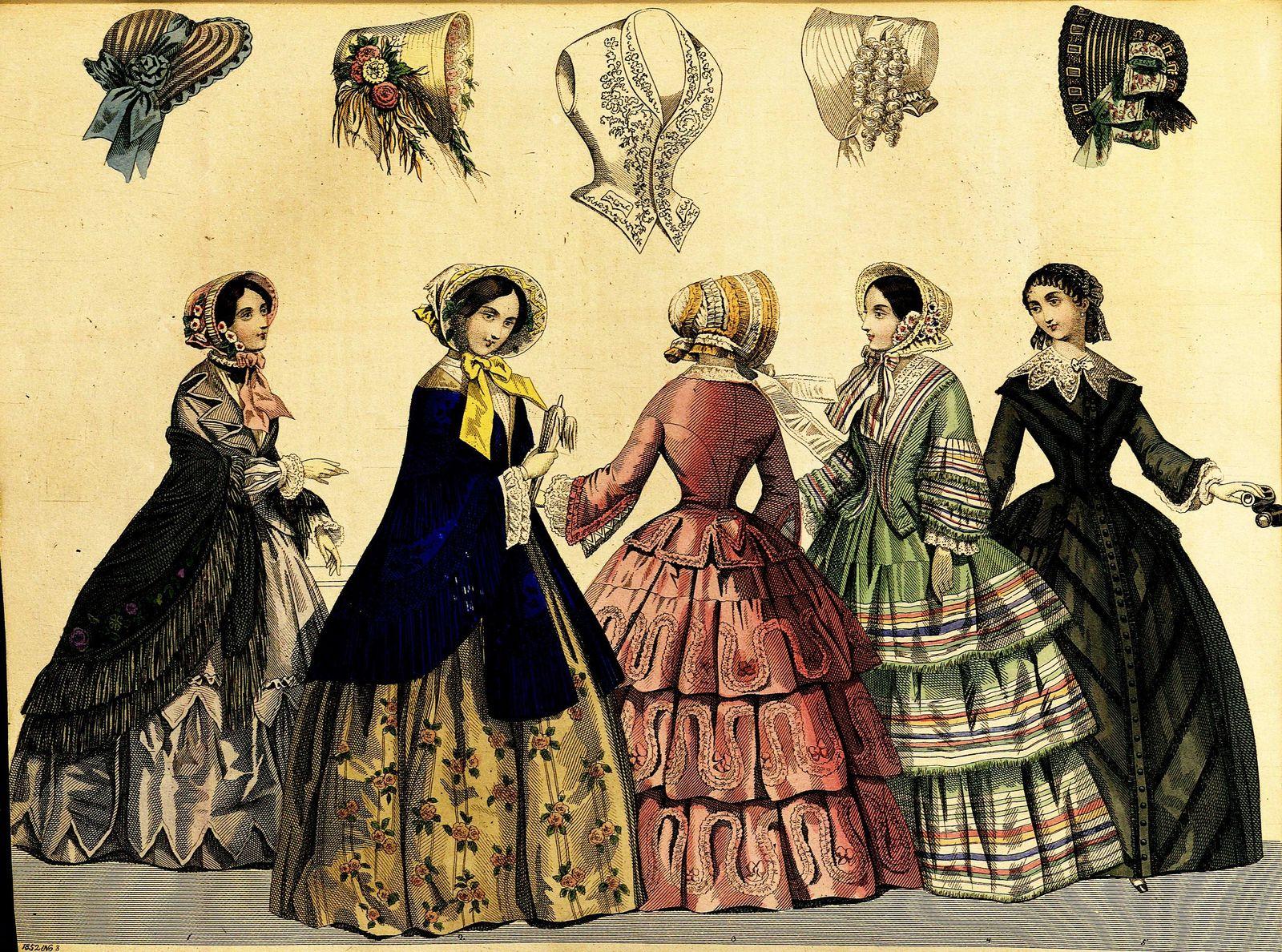 Stockholms mode-journal: Tidskrift för den eleganta werlden 1852