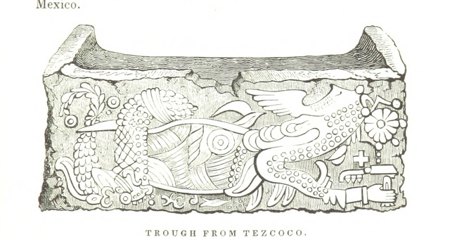 """Texcoco from """"Mexico, Aztec, Spanish and Republican: or historical, geographical, political, statistical and social account of that country from the period of the invasion to the present time: with a view of the ancient Aztec Empire ... a historical sketch of the late war; and notices of New Mexico and California"""""""