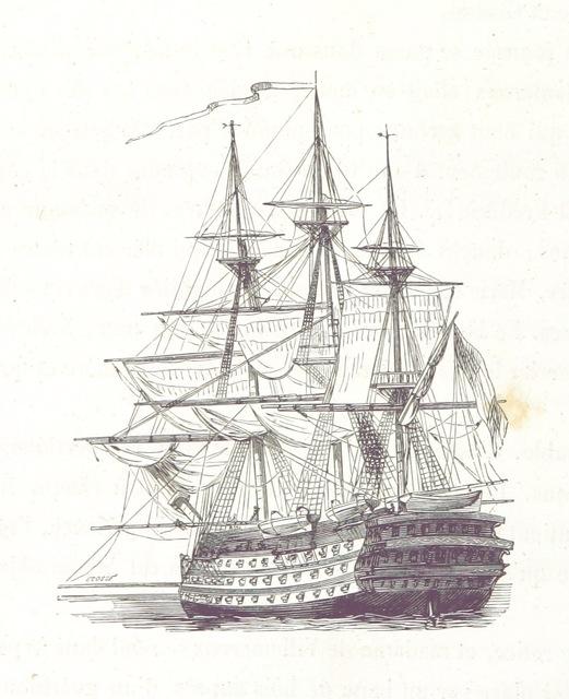 """ship from """"Album du Jeune Voyageur ... Illustré par L. Lassalle"""""""