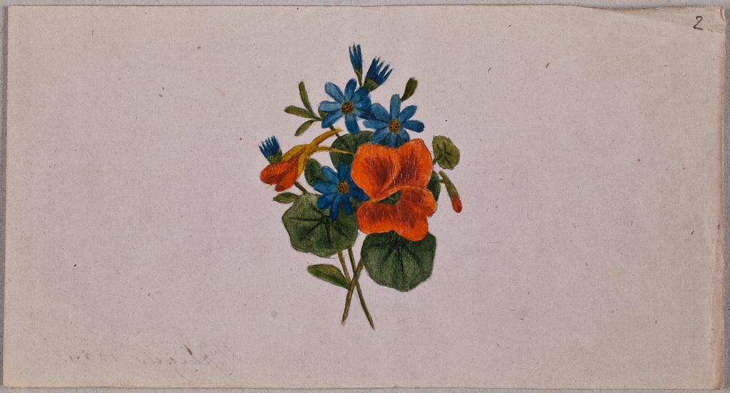 Albuminscriptie / van Willem Johannes Leijds (1828-1865) (huwde op 3 sept. 1856 met Trijntje van Beuningen van Helsdingen), voor Maria Catharina van Beuningen van Helsdingen (1833-1919)