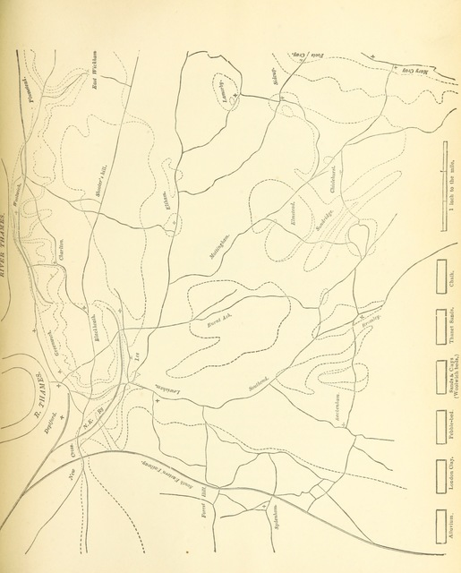 """map from """"History of the County of Kent ... Deptford. L.P"""""""