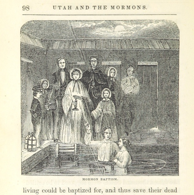 """Mormons from """"Utah and the Mormons ... From personal observations during a six months' residence at Great Salt Lake City"""""""