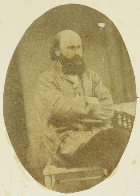 Portret van Marie Eugène Bour