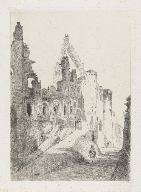 Ruïne van het kasteel Vianden