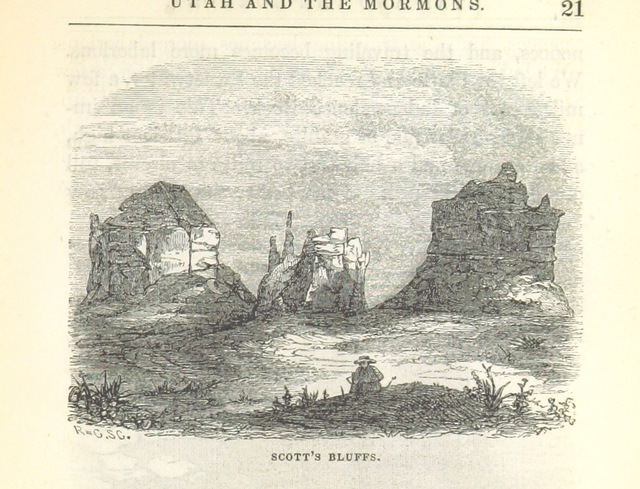 """Utah from """"Utah and the Mormons ... From personal observations during a six months' residence at Great Salt Lake City"""""""