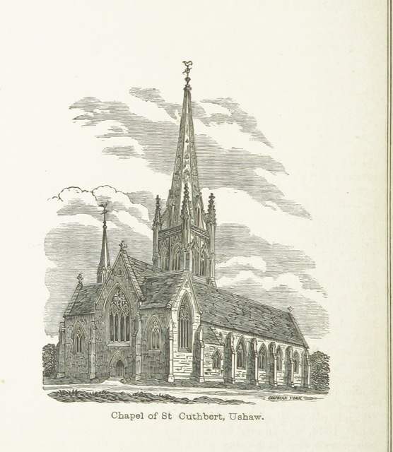 """cuthbert from """"A brief Sketch of Durham. Compiled for the use of the ... deputies of the ... Order of Odd-fellows ... attending the annual ... Committee of the Order held at D., etc. [With illustrations.]"""""""